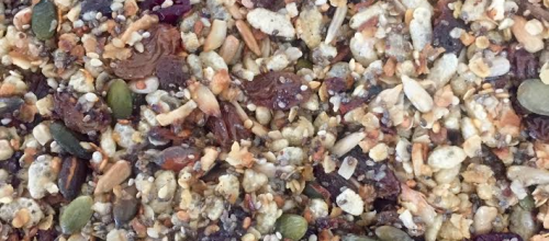 Delicious and easy Chia seed muesli bars